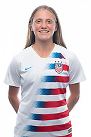 Sarasota, FL - Saturday, October 09, 2018:  Headshot of U-17 USWNT player Hannah Bebar.