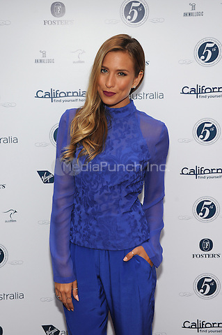 LOS ANGELES, CA - JUNE 12: Renee Bargh attends the Australians In Film's Heath Ledger Scholarship Dinner at a private residence in Los Angeles. June 12, 2013. Photo by RTNJV/MediaPunch Inc.