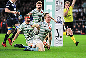 7th December 2017, Twickenham Stadium, London, England; The Varsity Match, Cambridge versus Oxford;  Jake Hennessey goes over the line in the 35th minute only to be cancelled on review for an earlier forward pass