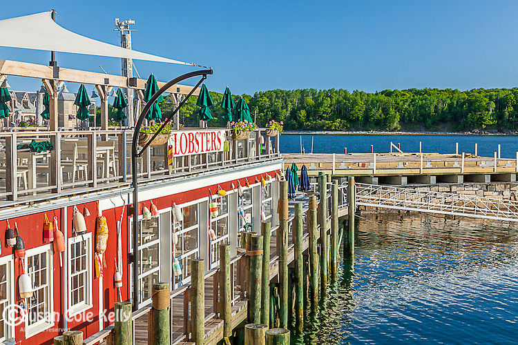 Stewman's Lobsters in Bar Harbor, Maine, USA