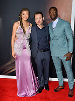 """LOS ANGELES, CA: 24, 2020: Storm Reid, Leigh Whannell & Aldis Hodge at the premiere of """"The Invisible Man"""" at the TCL Chinese Theatre.<br /> Picture: Paul Smith/Featureflash"""