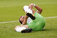Mario Gomez <br /> Soccer Football - Bundesliga - VfL Wolfsburg v Hannover 96 - Wolfsburg, Germany - September 9, 2017  *** Local Caption *** © pixathlon<br /> Contact: +49-40-22 63 02 60 , info@pixathlon.de