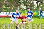 Tarbert's Danny Wrenn and Asdee/Ballylongford's Kenneth Foley.