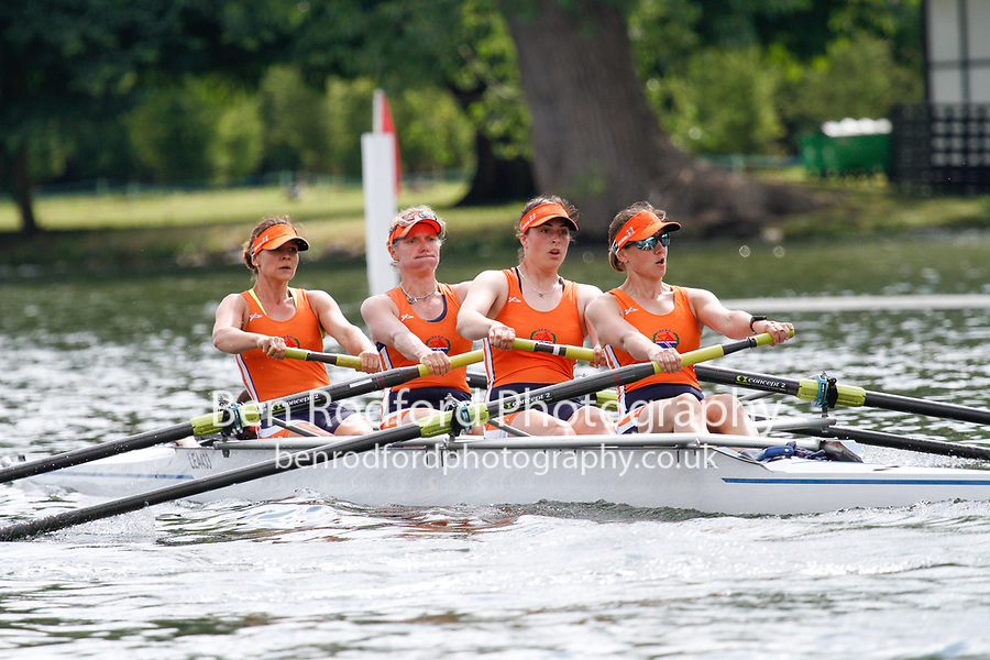 Race: 179 C4+ Quarter-Final - Lea RC vs Thames RC<br /> <br /> Henley Women's Regatta 2017<br /> <br /> To purchase this photo, or to see pricing information for Prints and Downloads, click the blue 'Add to Cart' button at the top-right of the page.