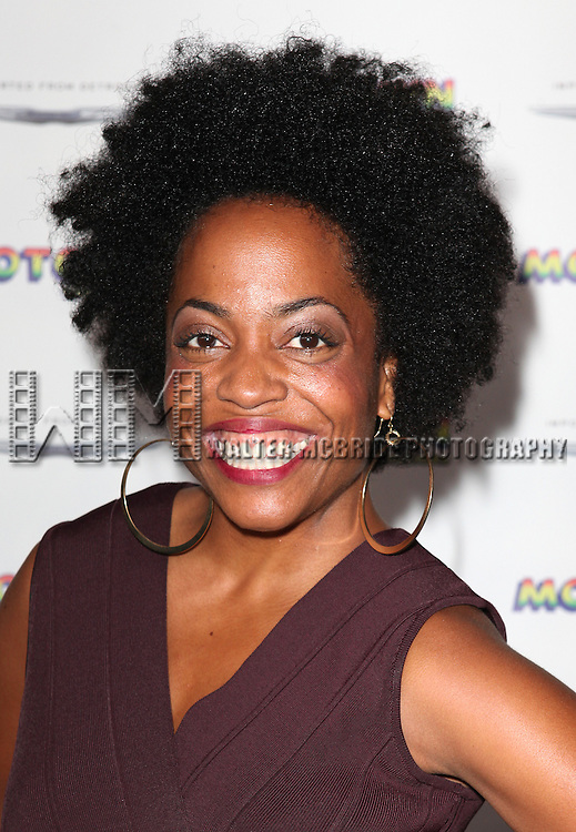 Rhonda Ross Kendrick attending the Broadway World Premiere Launch for 'Motown: The Musical' at the Nederlander in New York. Sept. 27, 2012
