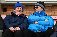 Bolton Wanderers' supporters enjoying the pre-match atmosphere at the DW Stadium <br /> <br /> Photographer Andrew Kearns/CameraSport<br /> <br /> The EFL Sky Bet Championship - Wigan Athletic v Bolton Wanderers - Saturday 16th March 2019 - DW Stadium - Wigan<br /> <br /> World Copyright &copy; 2019 CameraSport. All rights reserved. 43 Linden Ave. Countesthorpe. Leicester. England. LE8 5PG - Tel: +44 (0) 116 277 4147 - admin@camerasport.com - www.camerasport.com