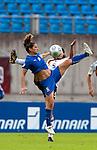 Patrizia Panico, Annika Krahn, QF, Germany-Italy, Women's EURO 2009 in Finland, 09042009, Lahti Stadium.