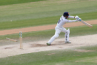 Adam Wheater of Essex is bowled out by Harry Gurney during Essex CCC vs Nottinghamshire CCC, Specsavers County Championship Division 1 Cricket at The Cloudfm County Ground on 23rd June 2018