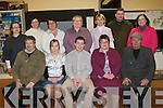 DRAMA GROUP: The member's of the Ballymacelligott Drama Group at rehearsal's for The Widows Paradise at Cloghers NS on Monday seated l-r: Mick Bolger, U?na Kerins, Jamie Cremins, Angela Lenihan and Seamus Quirke. Back l-r: Amanda Mannix, Oonagh O'Rahilly, Siobhan O'Keeffe, Ita O'Brien, Catherine Leahy, Steve Elvins and Siobhan O'Connor.