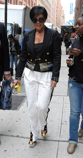 April 24, 2012: Kris Jenner.Mandatory Credit: Curtis Means/ACE/INFphoto.com  Ref: infusny-220
