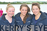 El Nino rowers who rowed at the Callinafercy regatta on Sunday l-r: Coleen Murphy, Nicola O'Sullivan and Sadie O'Sullivan..