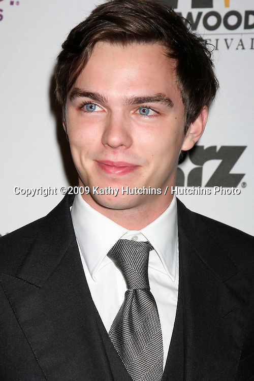 Nicholas Hoult.arriving at the 13th Annuall Hollywood Film Festival Awards Gala Ceremony.Beverly Hilton Hotel.Beverly Hills,  CA.October 26, 2009.©2009 Kathy Hutchins / Hutchins Photo.