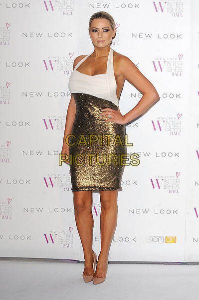 LONDON, ENGLAND - NOVEMBER 06: Nicola McLean at the New Look Winter Wishes Ball, Battersea Evolution, Battersea Park on November 6th, 2013 in London, England, UK.<br /> CAP/BEL<br /> &copy;Tom Belcher/Capital Pictures