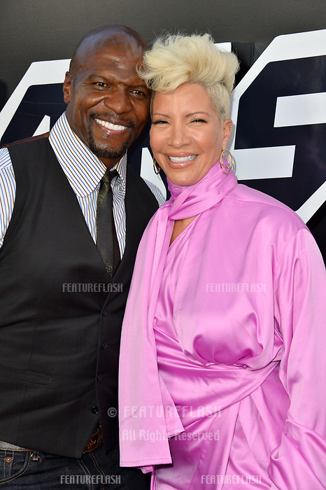 Terry Crews &amp; Rebecca King-Crews at the Los Angeles premiere of &quot;BlacKkKlansman&quot; at the Academy's Samuel Goldwyn Theatre, Beverly Hills, USA 08 Aug. 2018<br /> Picture: Paul Smith/Featureflash/SilverHub 0208 004 5359 sales@silverhubmedia.com
