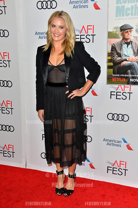 """LOS ANGELES, CA. November 10, 2018: Emily Osment at the AFI Fest 2018 world premiere of """"The Kominsky Method"""" at the TCL Chinese Theatre.<br /> Picture: Paul Smith/Featureflash"""