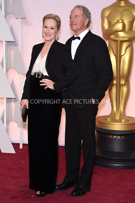WWW.ACEPIXS.COM<br /> <br /> February 22 2015, LA<br /> <br /> Meryl Streep arriving at the 87th Annual Academy Awards at the Hollywood &amp; Highland Center on February 22, 2015 in Hollywood, California<br /> <br /> <br /> By Line: Z15/ACE Pictures<br /> <br /> <br /> ACE Pictures, Inc.<br /> tel: 646 769 0430<br /> Email: info@acepixs.com<br /> www.acepixs.com