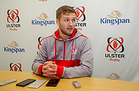Tuesday 6th February 2018 | Ulster Rugby Media Conference<br /> <br /> Johnny McPhillips during the Ulster Rugby Media Conference held at Kingspan Stadium, Ravenhill Park, Belfast, Northern Ireland. Photo by John Dickson / DICKSONDIGITAL