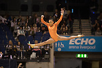 British Gymnastics Championships 2017<br /> The Liverpool Echo Arena<br /> Carrlisa Alleyne Cardiff Central Youth Club<br /> 25.03.17<br /> ©Steve Pope - Sportingwales