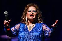 """***ATENCAO EDITOR FOTO ARQUIVO *** Morre a cantora Angela Maria aos 89 anos<br /> Internada havia mais de um mês na cidade de Sao Paulo e não resistiu a uma infecção generalizada neste domingo 30. (Foto: Vanessa Carvalho/Brazil Photo Press) *** ATENCAO EDITOR FOTO ARQUIVO ***<br /> <br /> SÃO PAULO,SP, 25.10.2015 - SHOW-SP - Cauby Peixoto e Angela Maria durante o show """"120 anos de música"""" no teatro Bradesco na oeste da cidade de São Paulo na noite de ontem sábado, 25. (Foto: Vanessa Carvalho/Brazil Photo Press)"""