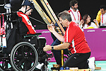 Philippe Lord competes in Boccia at the 2019 ParaPan American Games in Lima, Peru-29aug2019-Photo Scott Grant