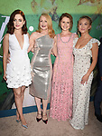HOLLYWOOD, CA - JUNE 26: (L-R) Madison Davenport, Patricia Clarkson, Eliza Scanlen and Sidney Sweeney attend the Los Angeles premiere of the HBO limited series 'Sharp Objects' at ArcLight Cinemas Cinerama Dome on June 26, 2018 in Hollywood, California.