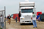 Sep 9, 2011; 11:10:27 AM; Rossburg, OH., USA; The 41st annual running of the World 100 Dirt Late Models racing for the Globe trophy at the Eldora Speedway.  Mandatory Credit: (thesportswire.net)