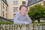 Joshua Roche from Tralee who is the youngest entrant in the Kerry's Got Talent auditions at the Carlton hotel, Tralee on Saturday.