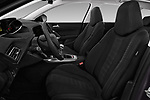 Front seat view of a 2018 Peugeot 308 SW Allure 5 Door Wagon front seat car photos