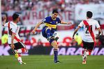 BUENOS AIRES – ARGENTINA_ 06-10-2013 / En juego correspondiente a la fecha 10 del Torneo Apertura Argentino 2013, River Plate cayó 0 – 1 ante Boca Juniors en el estadio Monumental de Buenos Aires.