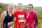 Caroline Houlihan, Hannah McCarthy, Abbeydorney and Rosemary Sheey, Ballyduff pictured at the Banna 10K run on Sunday morning.
