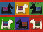 Kate, CUTE ANIMALS, LUSTIGE TIERE, ANIMALITOS DIVERTIDOS, paintings+++++Westies & Scotties.,GBKM487,#ac#, EVERYDAY ,dog,dogs