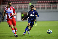 6th November 2019; Vozdovac Stadium, Belgrade, Serbia; UEFA Under 19 UEFA Youth league football, FK Crvena Zvezda under 19s versus Tottenham Hotspur under 19s; Dilan Markanday of Tottenham Hotspurs FC comes forward on the ball