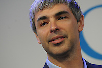 Google CEO Larry Page at a press annoucing that Google will allocate 22,000 square feet of its New York headquarters to Cornell NYC Tech University at Google headquarters in New York on May 21, 2012.. Credit: Dennis Van Tine/MediaPunch