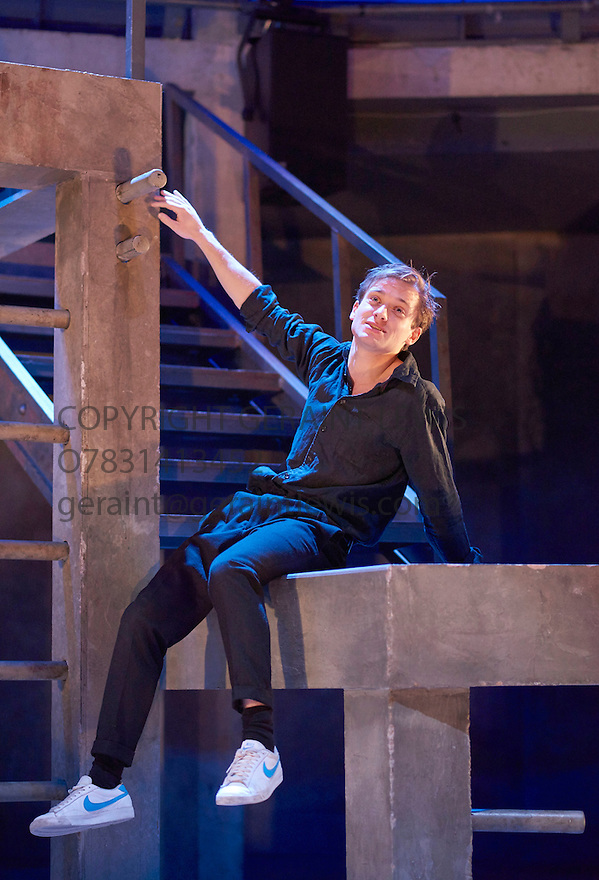 Romeo and Juliet by William Shakespeare, directed by Sally Cookson. With Joseph Drake as Romeo. Opens at The Rose Theatre, Kingston upon Thames  on 4/3/15. CREDIT Geraint Lewis