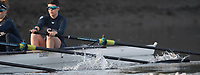 Putney, London,  Tideway Week, OUWBC. Oxford, Blades at the Catch&quot;.  Championship Course. River Thames, <br /> <br /> Tuesday  28/03/2017<br /> [Mandatory Credit; Credit: Peter Spurrier/Intersport Images.com ]