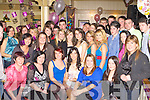 Aoife Eccles Killorglin seated centre celebrates her 18th birthday with her family and friends in Bunkers Bar Killorglin on Saturday night