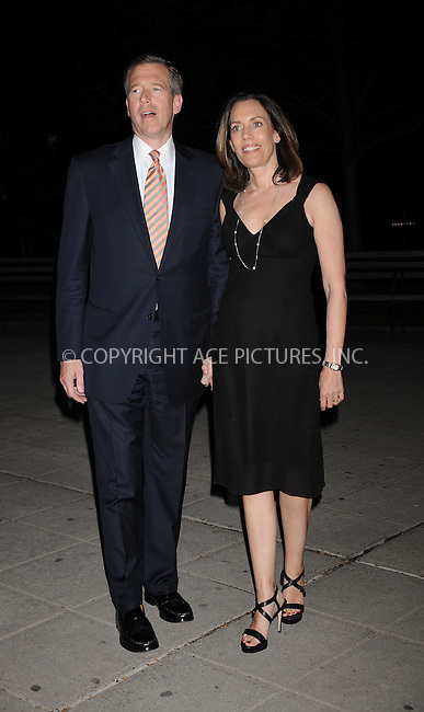 WWW.ACEPIXS.COM . . . . . ....April 21 2009, New York City....News Anchor Brian Williams and wife Jane Williams arriving at the Vanity Fair party for the 2009 Tribeca Film Festival at the State Supreme Courthouse on April 21, 2009 in New York City.....Please byline: KRISTIN CALLAHAN - ACEPIXS.COM.. . . . . . ..Ace Pictures, Inc:  ..tel: (212) 243 8787 or (646) 769 0430..e-mail: info@acepixs.com..web: http://www.acepixs.com