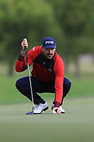Gregory Havret (FRA) on the 7th green during Round 2 of the Challenge Tour Grand Final 2019 at Club de Golf Alcanada, Port d'Alcúdia, Mallorca, Spain on Friday 8th November 2019.<br /> Picture:  Thos Caffrey / Golffile<br /> <br /> All photo usage must carry mandatory copyright credit (© Golffile | Thos Caffrey)