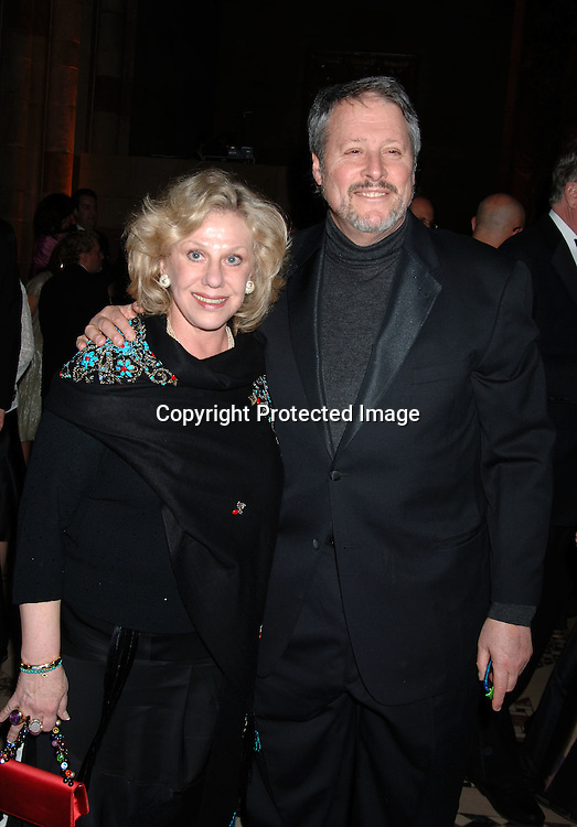 Erica Jong and husband Ken Burrows ..at The American Theatre Wing's Annual Spring Gala honoring Matthew Broderick and Nathan Lane on ..April 10, 2006 at Cipriani 42nd Street. ..Robin Platzer, Twin Images