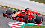 12.05.2018.Sebastian Vettel (GER) Scuderia Ferrari at Formula One World Championship,  Spanish Grand Prix, Qualifying, Barcelona, Spain