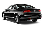 Car pictures of rear three quarter view of a 2015 Volkswagen Passat Comfort 4 Door Sedan Angular Rear