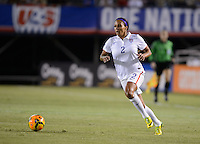 San Diego, Ca - Thursday, April 10, 2014: The USWNT vs China during an international friendly match at Qualcomm Stadium.
