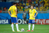 Bernard and Fred of Brazil look dejected
