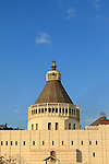 Israel, Galilee, the Church of the Annunciation at the heart of Nazareth