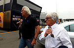 Flavio Briatore (ITA) - Bernie Ecclestone (GBR)<br /> for the complete Middle East, Austria & Germany Media usage only!<br />  Foto © nph / Mathis
