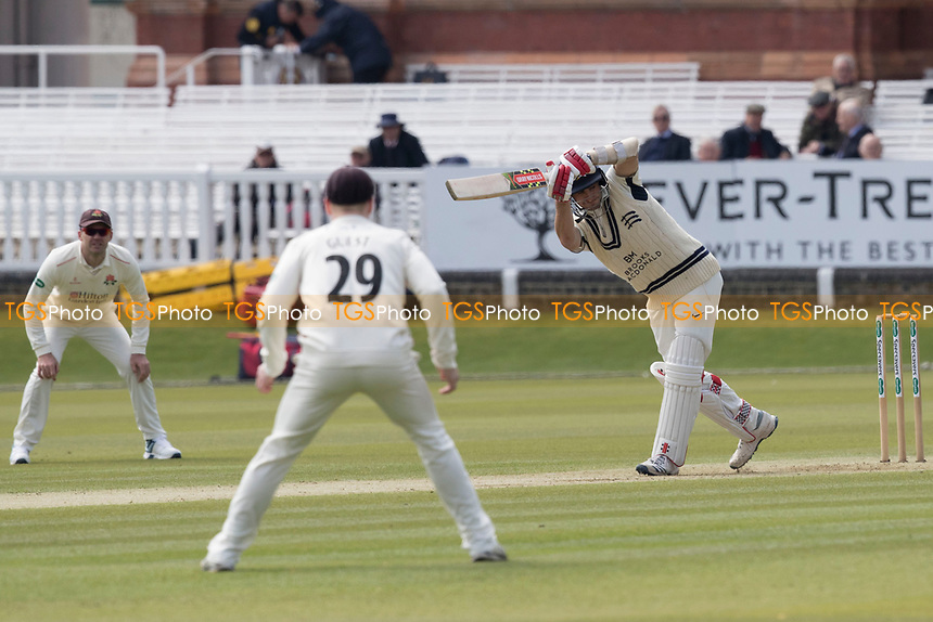 Stephen Eskinazi of Middlesex CCC flicks of his legs to fine leg during Middlesex CCC vs Lancashire CCC, Specsavers County Championship Division 2 Cricket at Lord's Cricket Ground on 11th April 2019