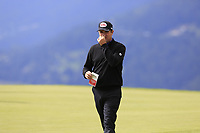Scott Hend (AUS) walks off the 7th green during Sunday's Final Round of the 2017 Omega European Masters held at Golf Club Crans-Sur-Sierre, Crans Montana, Switzerland. 10th September 2017.<br /> Picture: Eoin Clarke | Golffile<br /> <br /> <br /> All photos usage must carry mandatory copyright credit (&copy; Golffile | Eoin Clarke)