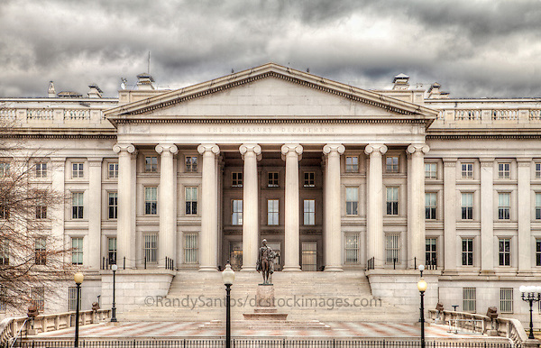 US Treasury Department Washington DC Architecture