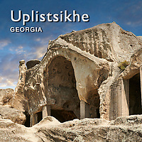 Pictures & Images of Uplistsikhe fortress cave city, Georgia (country) -