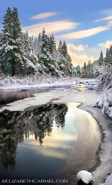 Winter Light, Truckee River